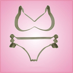 Detailed Bikini Cookie Cutter Set