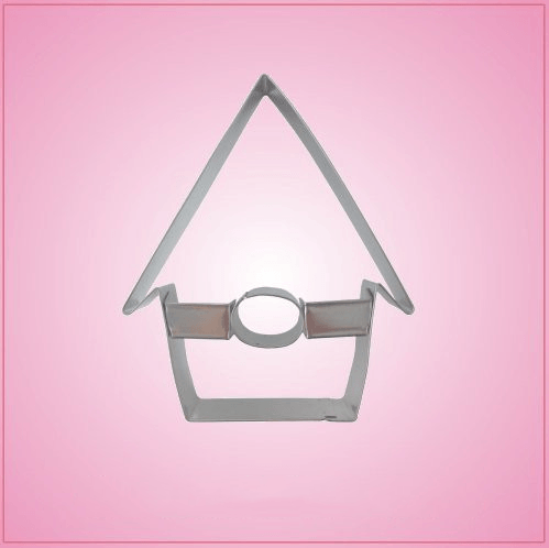 Detailed Birdhouse Cookie Cutter