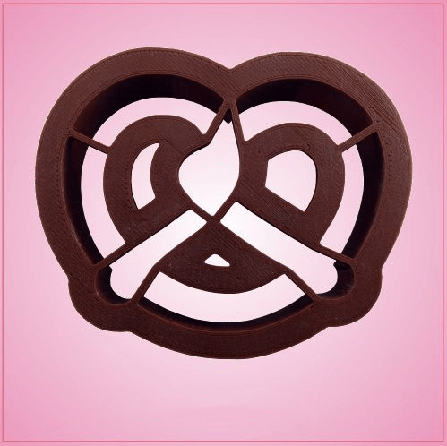 Detailed Pretzel Cookie Cutter