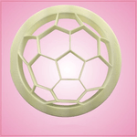 Detailed Soccer Ball Cookie Cutter