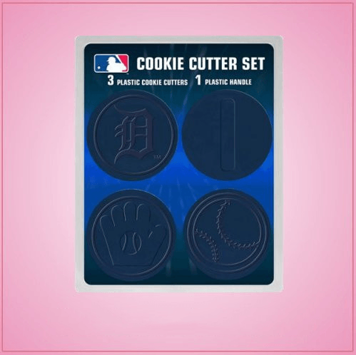 Detroit Tigers Cookie Cutter Set