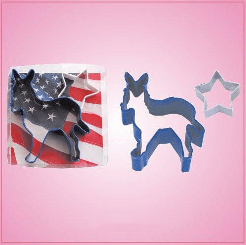 Donkey and Star Cookie Cutter Set