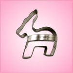 Donkey Cookie Cutter with Handle