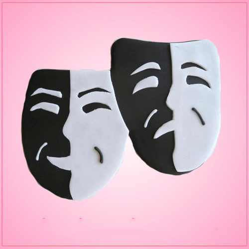Drama Theater Mask Cookie Cutter