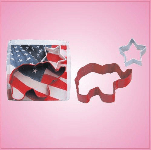 Elephant and Star Cookie Cutter Set
