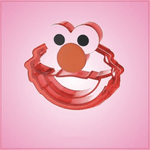 Detailed Elmo Cookie Cutter