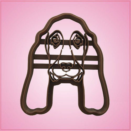 Embossed Basset Hound Cookie Cutter