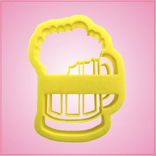Embossed Beer Mug Cookie Cutter