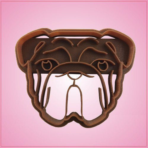 Embossed Bulldog Cookie Cutter
