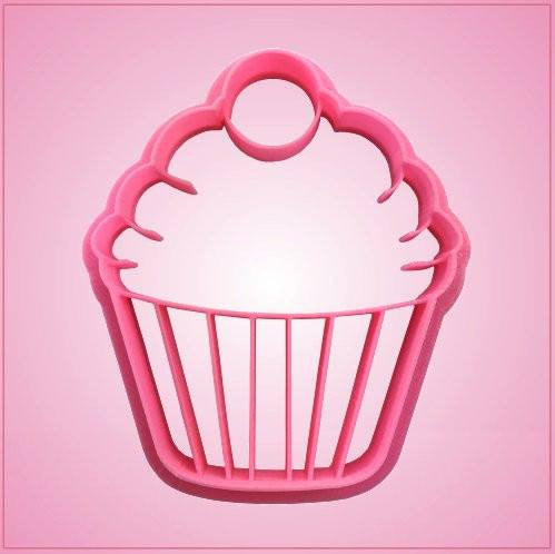 Embossed Cupcake Cookie Cutter