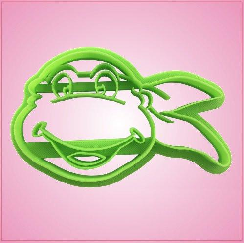 Embossed Fighting Turtle Cookie Cutter