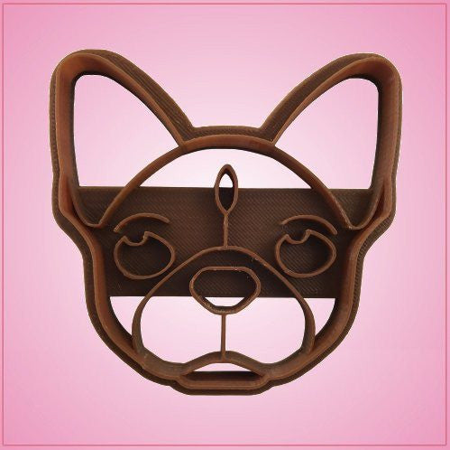 Embossed French Bulldog Cookie Cutter