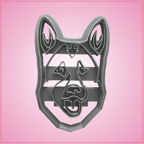 Embossed German Shepherd Cookie Cutter