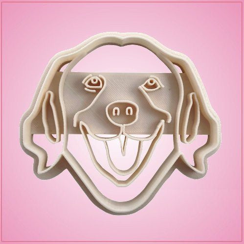 Embossed Golden Retriever Cookie Cutter