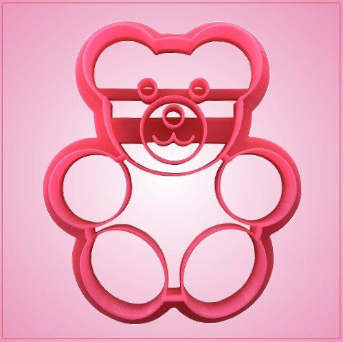 Embossed Gummy Bear Cookie Cutter