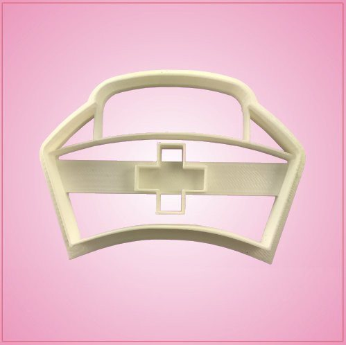 Embossed Nurse Cap Cookie Cutter