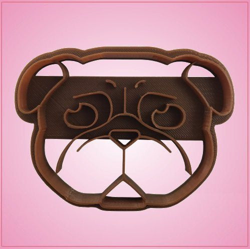 Embossed Pug Cookie Cutter