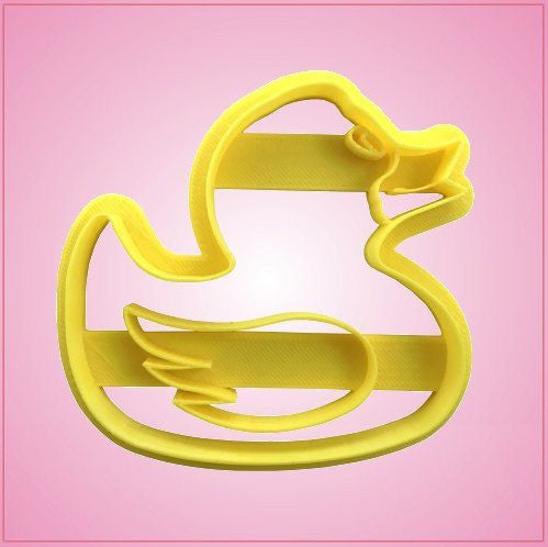 Embossed Rubber Ducky Cookie Cutter