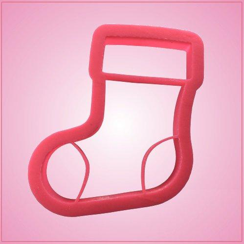 Embossed Stocking Cookie Cutter