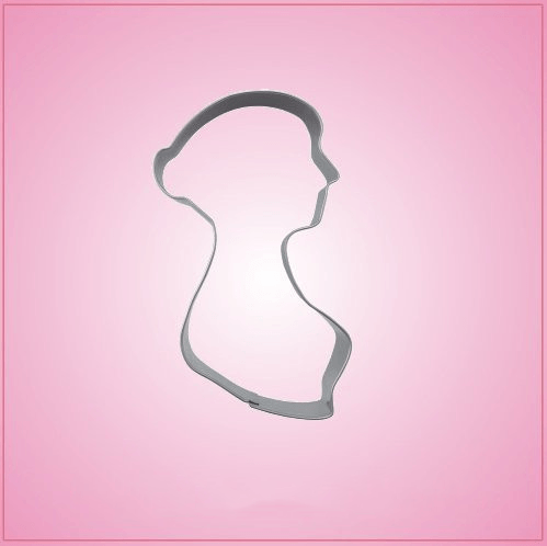Female Silhouette Cookie Cutter