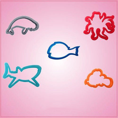 Forgetful Fish Cookie Cutter Set
