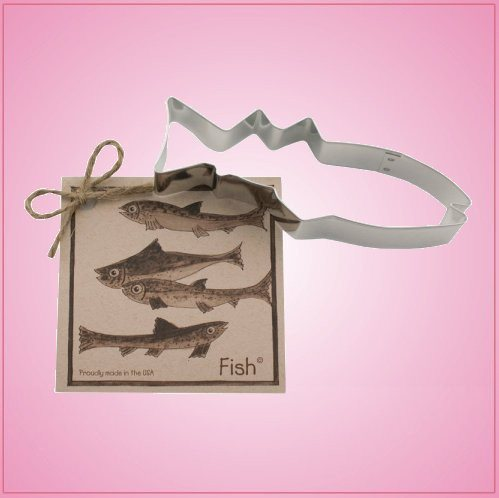 Fish Cookie Cutter with Recipe Card