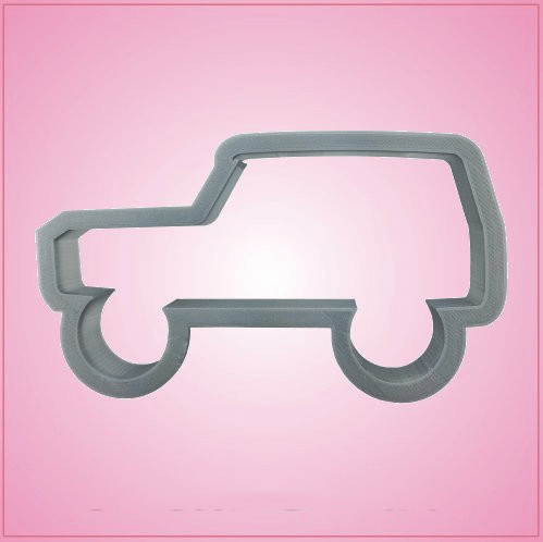 Ford Bronco Cookie Cutter