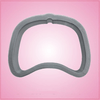 Forward Facing Baseball Cap Cookie Cutter