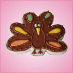 Forward Facing Turkey Cookie Cutter