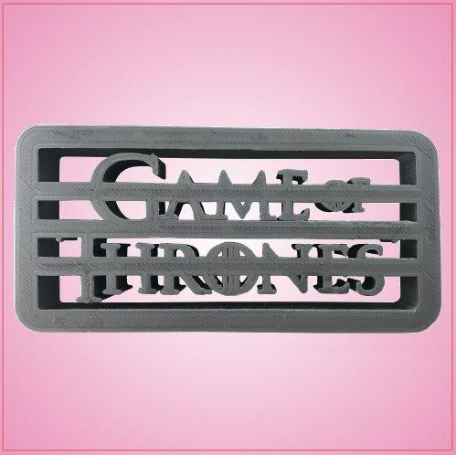 Game Of Thrones Cookie Cutter