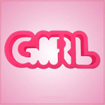 Girl Word Cookie Cutter