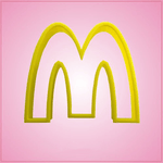 McDonalds Golden Arches Cookie Cutter