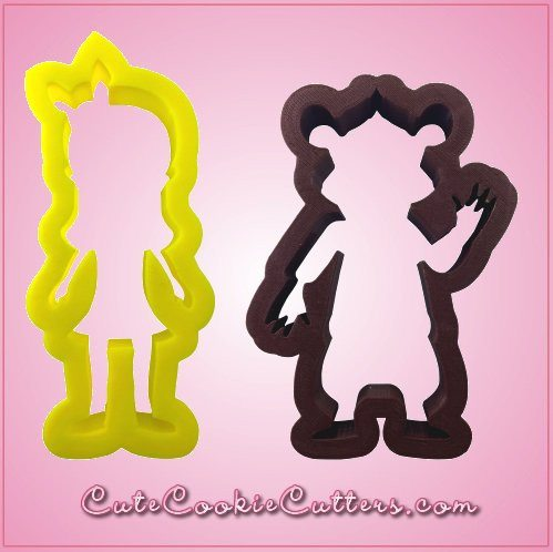 Goldilocks and Bear Cookie Cutter Set
