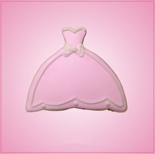 Ball Gown Dress Cookie Cutter