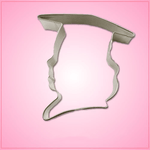 Graduation Girl Cookie Cutter