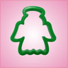 Green Angel Cookie Cutter