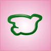 Green Dove Cookie Cutter