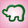 Green Elephant Cookie Cutter