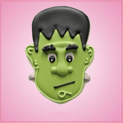 Green Frankenstein Cookie Cutter