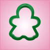 Green Gingerbread Girl Cookie Cutter