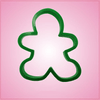 Green Gingerbread Man Cookie Cutter