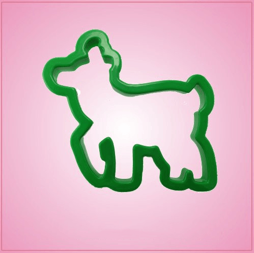 Green Reindeer Cookie Cutter