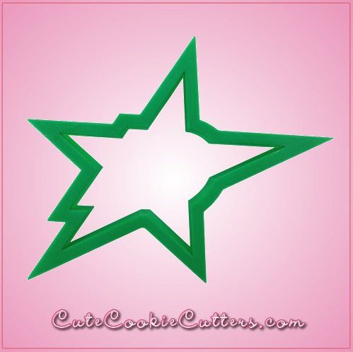Green Star Cookie Cutter