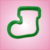 Green Stocking Cookie Cutter