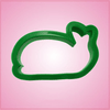 Green Whale Cookie Cutter