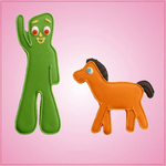 Gumby Cookie Cutter Set