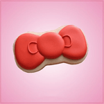 Hello Kitty Bow Cookie Cutter
