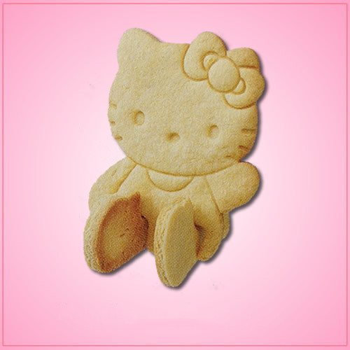 Make Hello Kitty Cookies 3D Hello Kitty Cookie Cutter