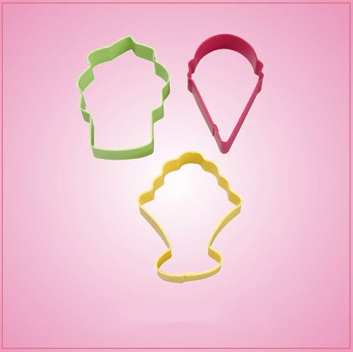 Ice Cream Cookie Cutter Set