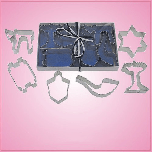 Jewish Cookie Cutter Set